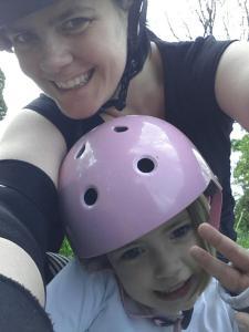 Maman paléo régime paléo roller derby